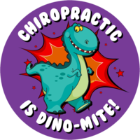 St199a dino mite sticker