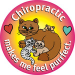 Chiropractic makes me feel purrfect.