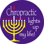 Chiropractic Lights Up My Life! Hanukkah