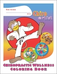 Chiropractic Wellness Coloring Book: Fun with Sports!