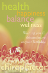 Health, Happiness, Balance, Wellness