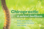Chiropractic is natural health care