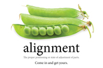 Alignment. Come in and get yours. (Peapod)