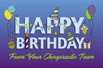 Happy Birthday From Your Chiropractic Team (purple)