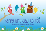 Happy Birthday to You! (singing birds) *NEW*