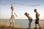 Keep your body in balance