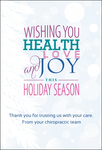 Wishing you health, love & joy