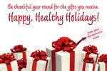 Happy, Healthy Holidays!