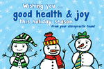 Wishing you good health & joy