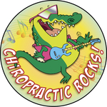 Chiropractic Rocks! (Alligator)
