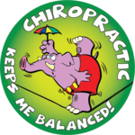 CHIROPRACTIC KEEPS ME BALANCED!