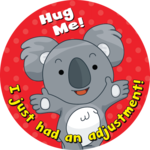 Hug Me! I just had an adjustment!